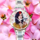 cute katy perry prism album round charm watches stainless steel