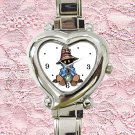 cute Vivi Final Fantasy heart charm watches stainless steel