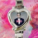 cute zedd album tour heart charm watches stainless steel