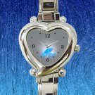 cute avicii broken arrows album heart charm watches stainless steel