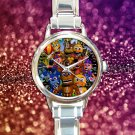 cute Five Nights at Freddy's round charm watches stainless steel