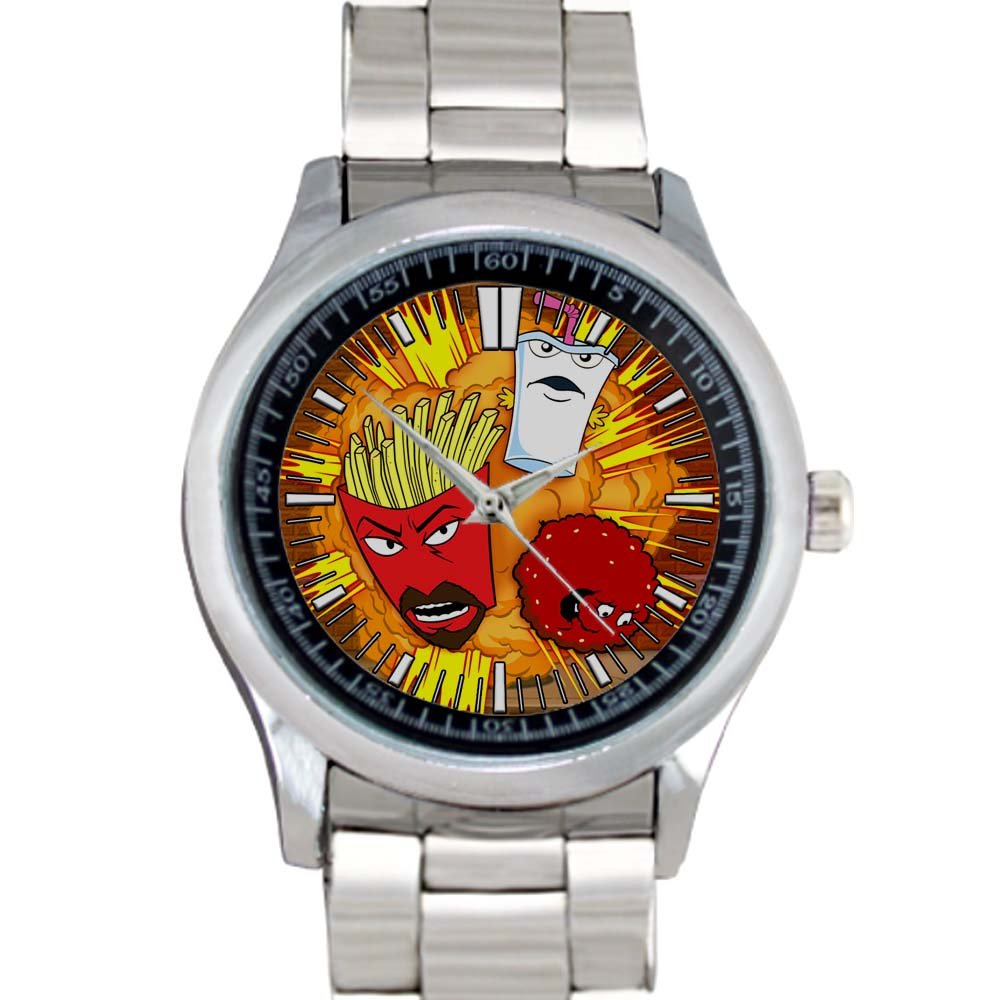 cool Aqua Teen Hunger Force Stainless Steel Wristwatches