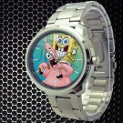 cool Spongebob patrick quote best friend forever BFF Stainless Steel Wristwatches