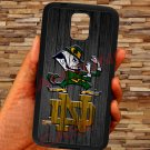notre dame fighting irish fit for samsung galaxy S5 S 5 S V black case cover