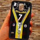 pittsburgh steelers roethlisberger fit for samsung galaxy S5 S 5 S V black case cover