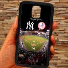New york yankees stadium fit for samsung galaxy note 4 black case cover