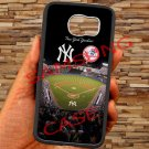 New york yankees stadium fit for samsung galaxy S6 S 6 S VI edge black case cover