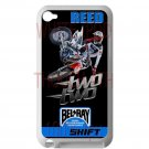 chad reed motocross supercross fit for ipod touch 4 white case cover