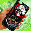 """brian deegan ford rally metal mulisha sign fit for iphone 6 plus 5.5"""" black case cover"""