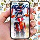 "kurt caselli biker supercross motocross racing fit for iphone 6 4.7"" black case cover"
