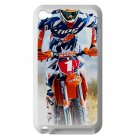 kurt caselli biker supercross motocross racing fit for ipod touch 4 white case cover