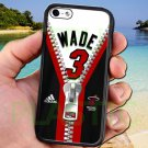 wade dwayne miami heat fit for iphone 5 5s black case cover