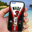 "wade dwayne miami heat fit for iphone 6 4.7"" black case cover"