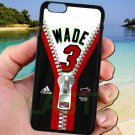 "wade dwayne miami heat fit for iphone 6 plus 5.5"" black case cover"