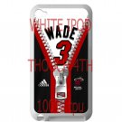 wade dwayne miami heat fit for ipod touch 4 white case cover