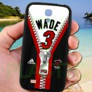 wade dwayne miami heat fit for samsung galaxy S4 S 4 S IV black case cover