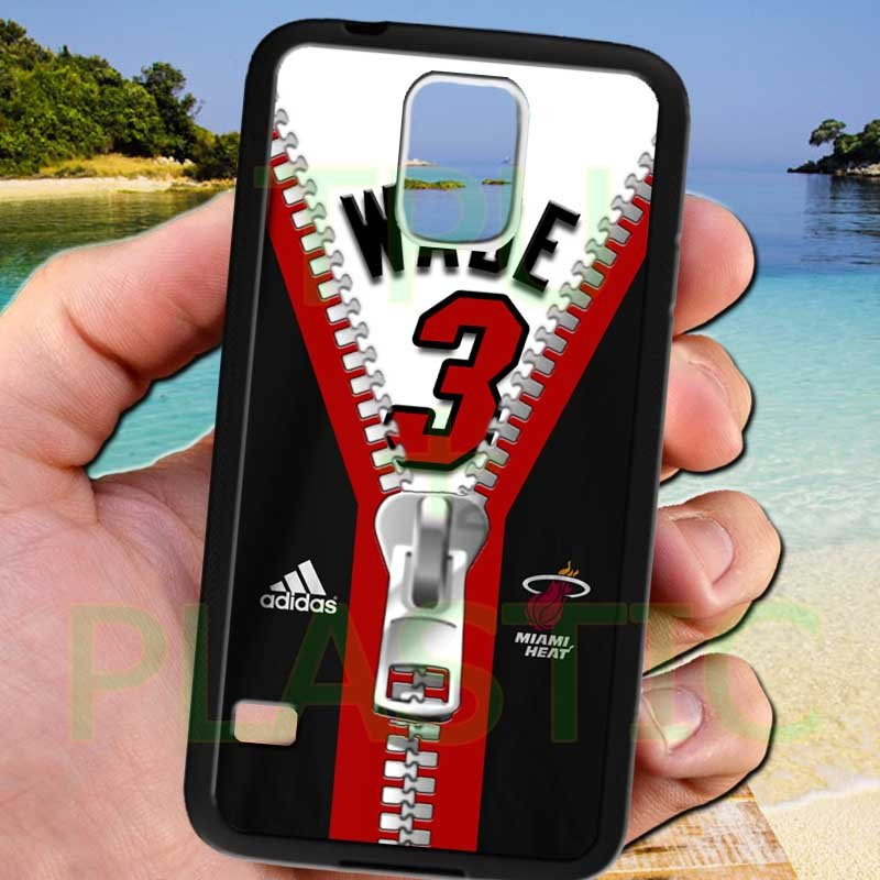 wade dwayne miami heat fit for samsung galaxy S5 S 5 S V black case cover