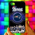 england patriot mascot fit for iphone 4 4s black case cover