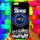 """england patriot mascot fit for iphone 6 4.7"""" black case cover"""