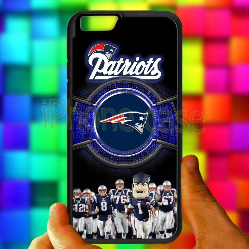 england patriot mascot fit for iphone 6s black case cover