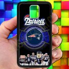 england patriot mascot fit for samsung galaxy S5 S 5 S V black case cover