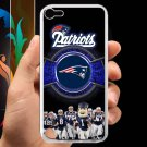 england patriot mascot fit for ipod touch 5 white case cover