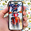 kurt caselli biker supercross motocross racing fit for ipod touch 6 white case cover