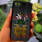 notre dame fighting irish fit for ipod touch 6 white case cover