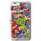 sticker bomb racing hoonigan subaru fit for ipod touch 4 white case cover