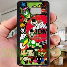 Eat Sleep JDM sticker bomb japan racing fit for samsung galaxy note 5 black case cover