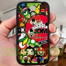 Eat Sleep JDM sticker bomb japan racing fit for samsung galaxy S4 S 4 S IV black case cover