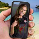 "Alex Morgan Portland Thorns USA fit for iphone 6 4.7"" black case cover"
