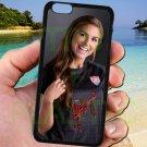 "Alex Morgan Portland Thorns USA fit for iphone 6 plus 5.5"" black case cover"