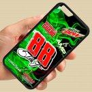 """Dale Earnhardt Jr nascar fit for iphone 6 4.7"""" black case cover"""