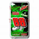 Dale Earnhardt Jr nascar fit for ipod touch 4 white case cover