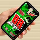 Dale Earnhardt Jr nascar fit for samsung galaxy S4 S 4 S IV black case cover