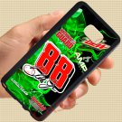 Dale Earnhardt Jr nascar fit for samsung galaxy S6 S 6 S VI edge+ black case cover