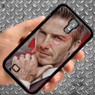 david beckham tattoo logo fit for samsung galaxy S4 S 4 S IV black case cover