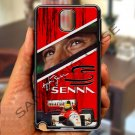 Ayrton Senna F1 legend fit for samsung galaxy note 3 black case cover