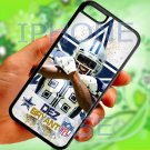 Dallas Cowboys Dez Bryant fit for iphone 5C black case cover