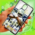 Dallas Cowboys Dez Bryant fit for samsung galaxy note 3 black case cover