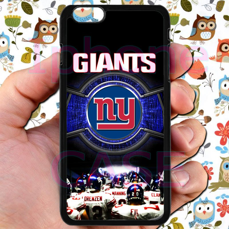 """new york giants football beckam fit for iphone 6 plus 5.5"""" black case cover"""