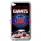 new york giants football beckam fit for ipod touch 4 white case cover
