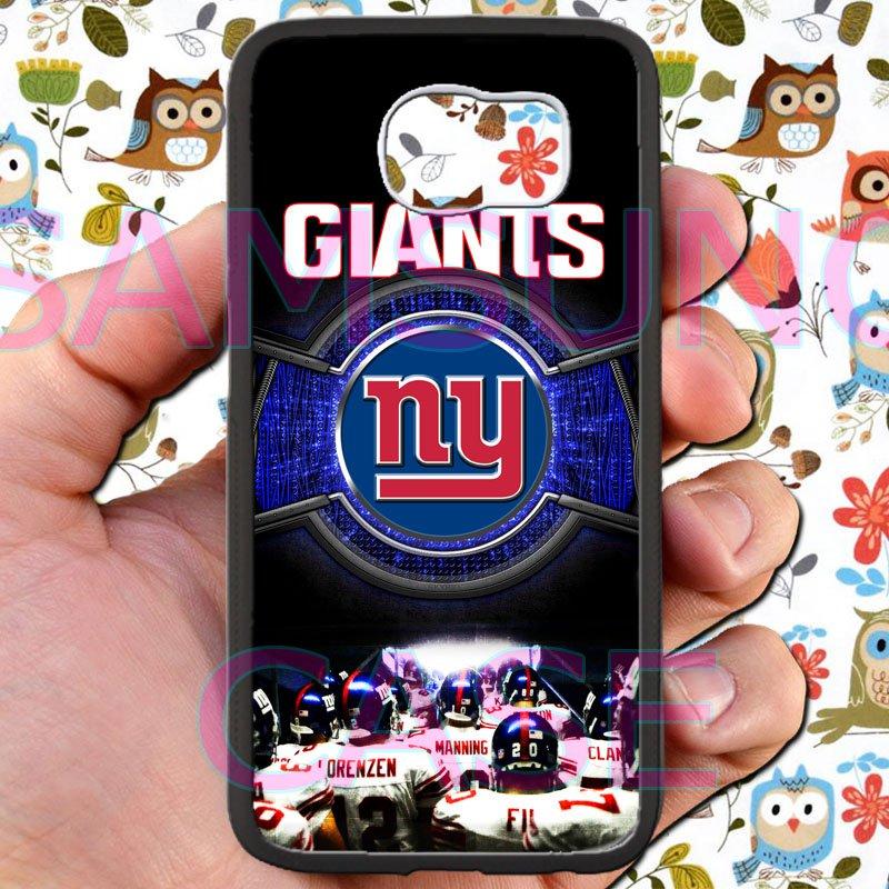 new york giants football beckam fit for samsung galaxy S6 S 6 S VI edge black case cover