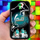 miami dolphins ryan tannehill fit for samsung galaxy S4 S 4 S IV black case cover