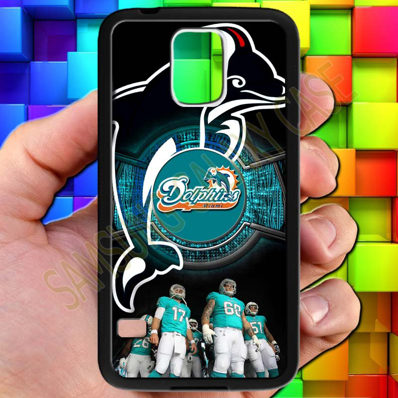 miami dolphins ryan tannehill fit for samsung galaxy S5 S 5 S V black case cover