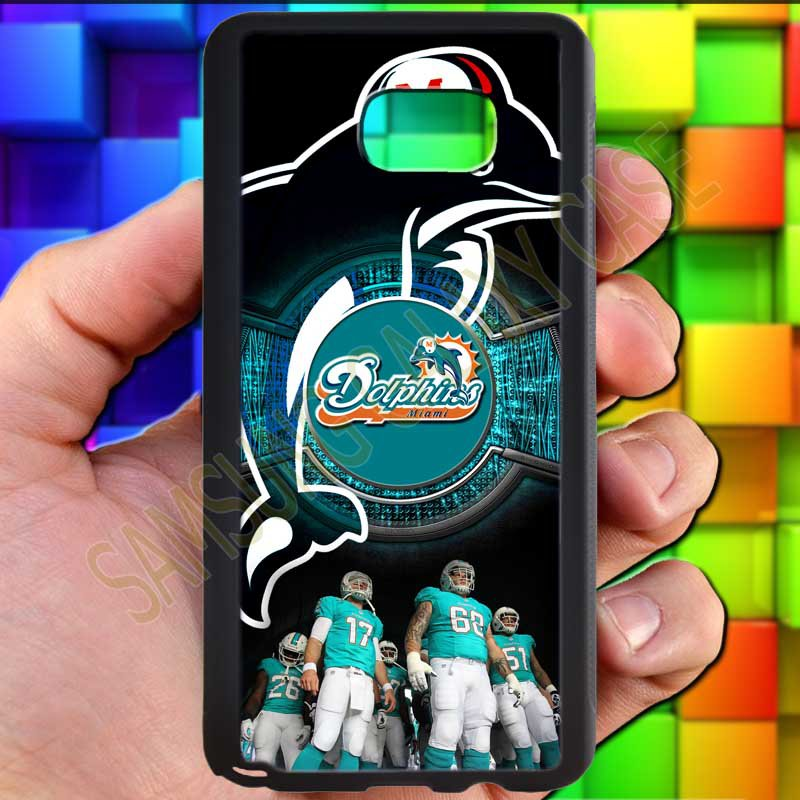 miami dolphins ryan tannehill fit for samsung galaxy S6 S 6 S VI edge+ black case cover