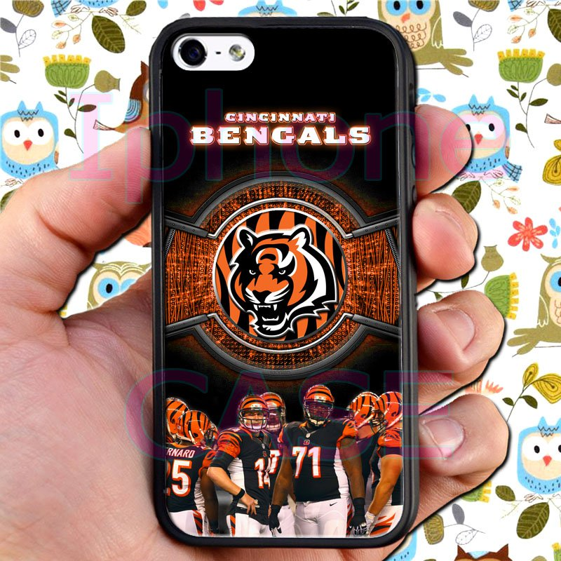 Cincinnati Bengals football a j green fit for iphone 4 4s black case cover