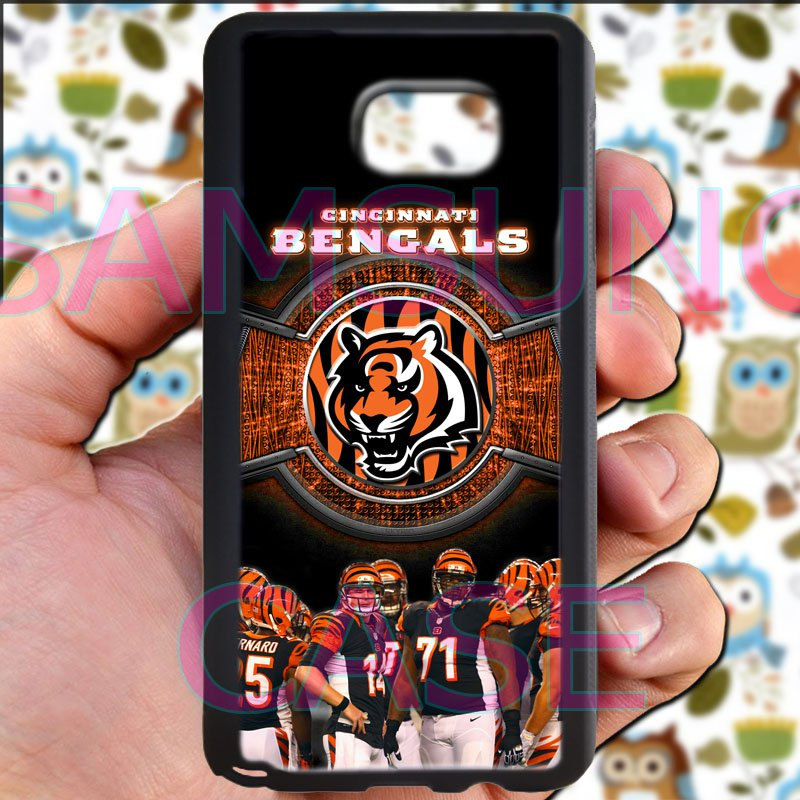 Cincinnati Bengals football a j green fit for samsung galaxy note 5 black case cover