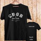 CBGB & OMFUG Home of Underground Punk Rock vintage black t-shirt tshirt shirts tee SIZE L